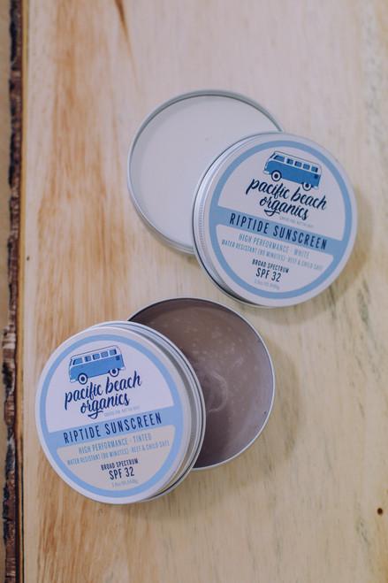 Riptide Sunscreen Bundle - White & Tinted - SPF 32 - Plastic Free
