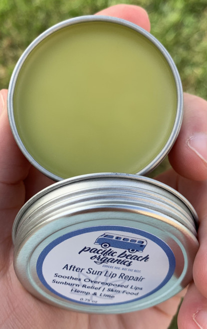 After Sun Lip Repair/Lip Balm - Hemp - Plastic Free