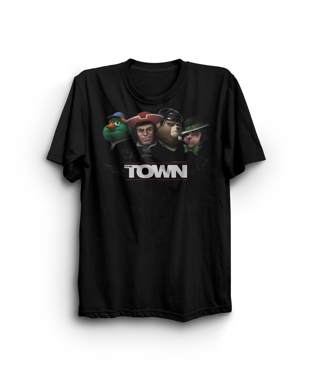 """The Town T-shirt """"wrong city to mess with"""""""