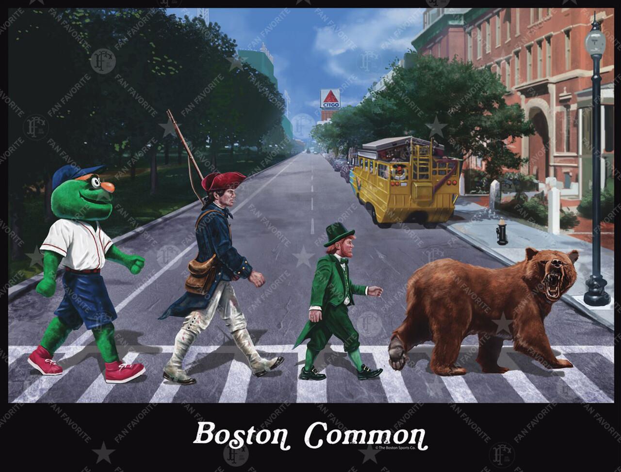 Boston Common (Original) Wall Print