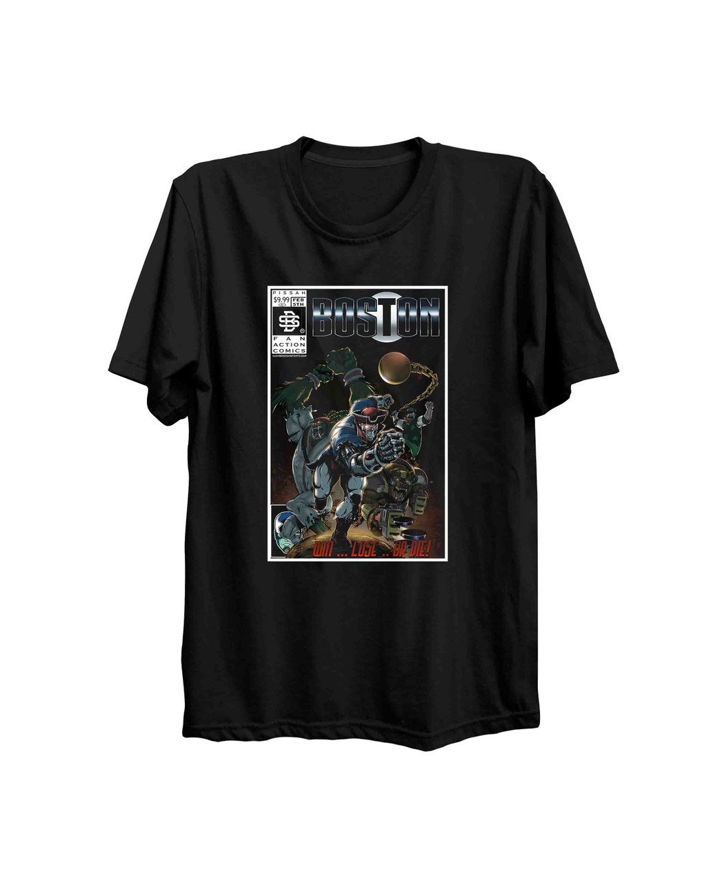 Forever Champions Comic T-shirt