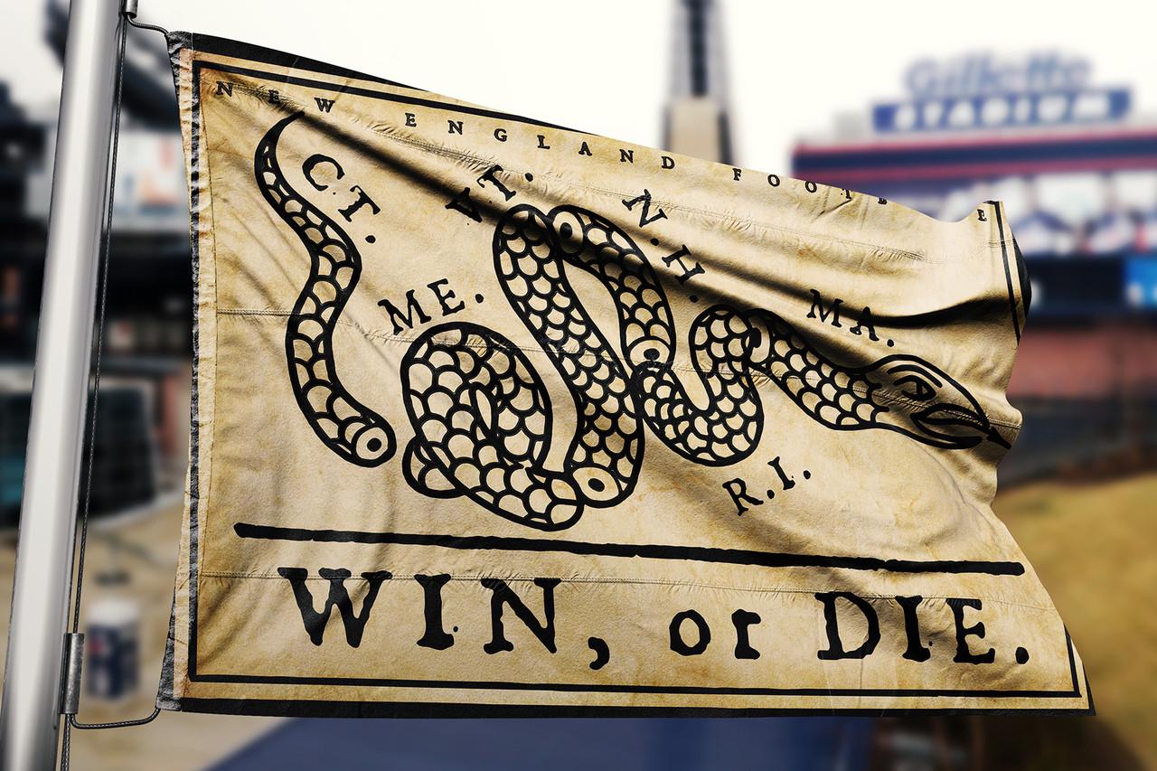 Win or Die Flag
