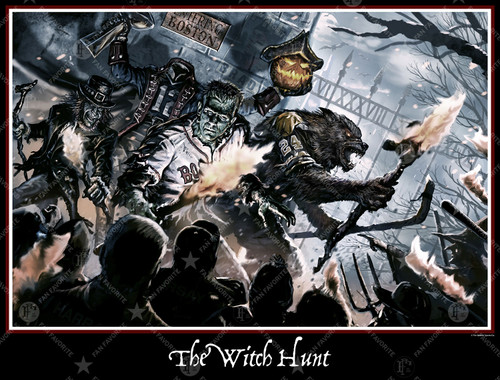 THE WITCH HUNT (WALL PRINT)