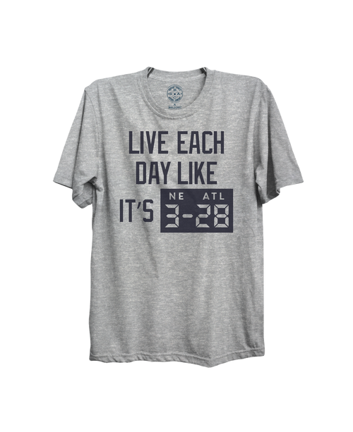 4c874708864a07 LIVE EACH DAY T-SHIRT