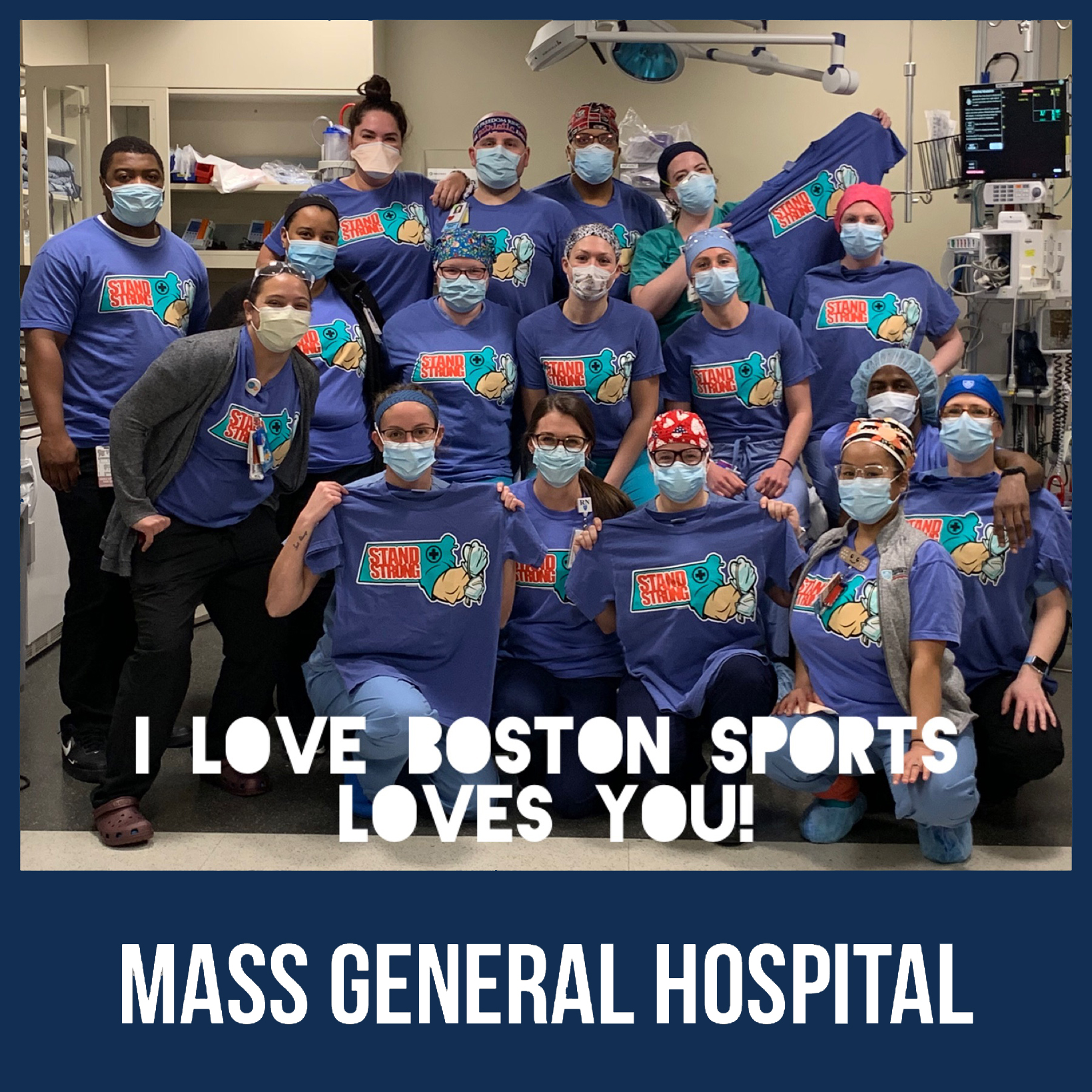 I LOVE BOSTON SPORTS IN THE COMMUNITY