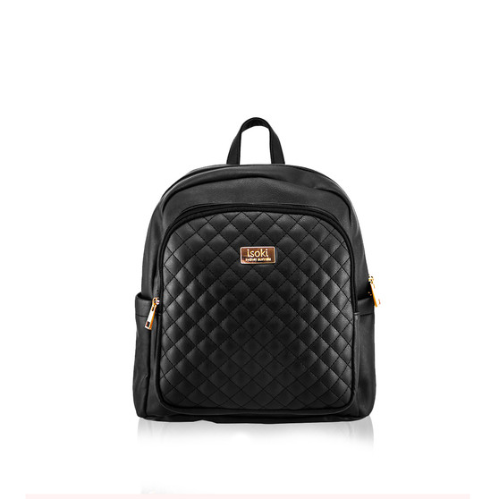 Mini Marlo Backpack- Ebony