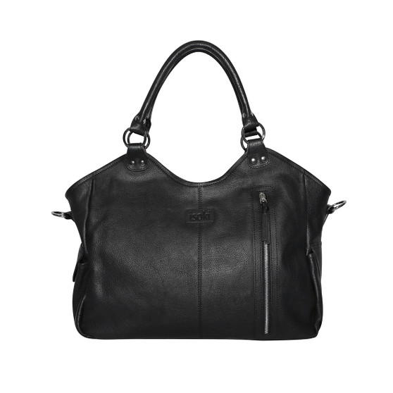 The Leather Hobo Angel Classic Nappy Bag is a super lightweight nappy bag made from 100% leather. It features multiple storage pockets inside and out, which keep your keys, phone, tablet and baby essentials in easy reach. This innovative baby bag has a vertical outside pocket which gives you quick and easy access to the items you need most. When you add up all the features and stylish design, you can see why the Hobo Angel Classic Nappy Bag is heaven sent!