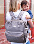 "Our brand new Byron Backpack is the ultimate ""Hands Free"" option for mums on the go!"