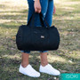 Kingston Duffle Bag - Black Nylon