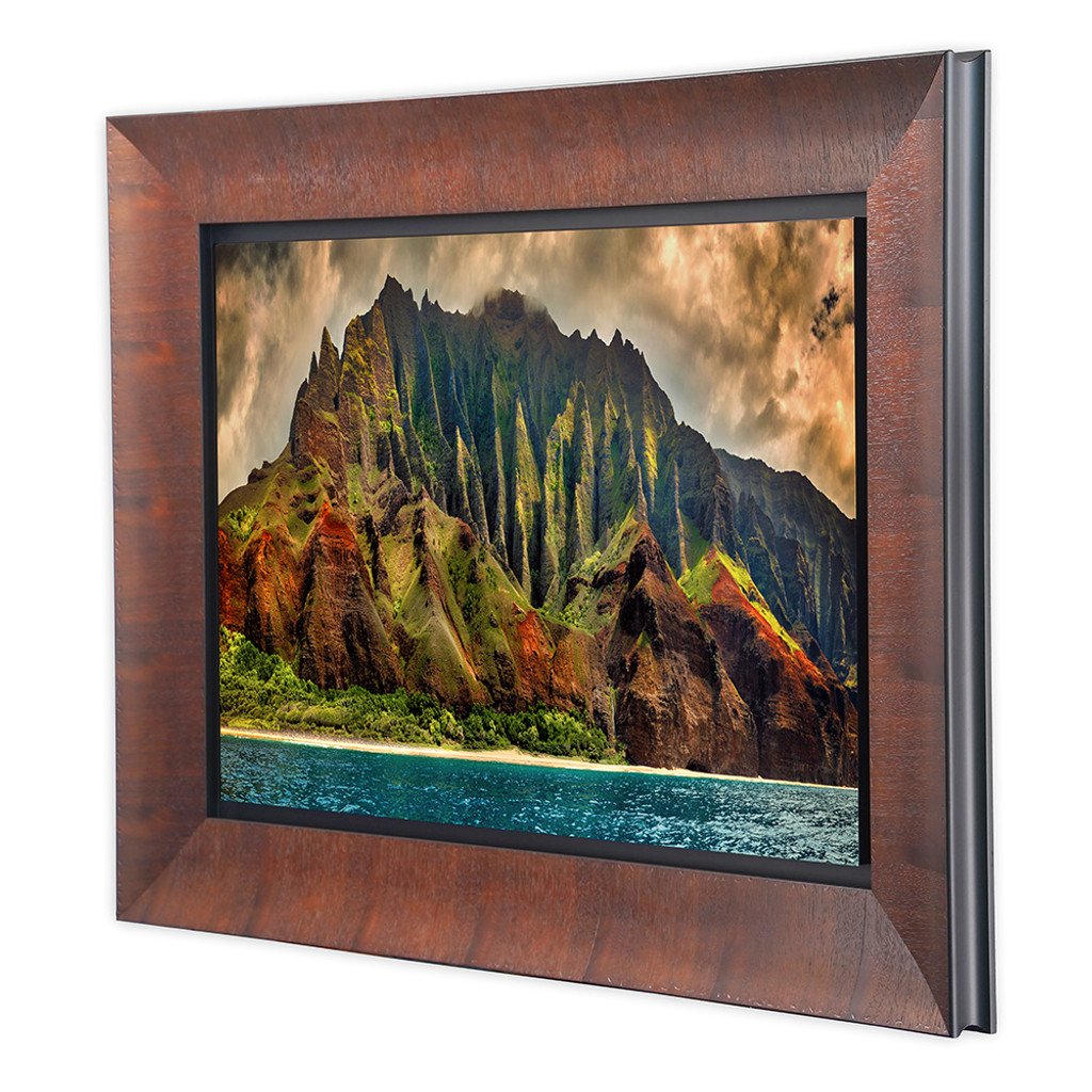 Metal Print w/ Sequoia Wood Frame