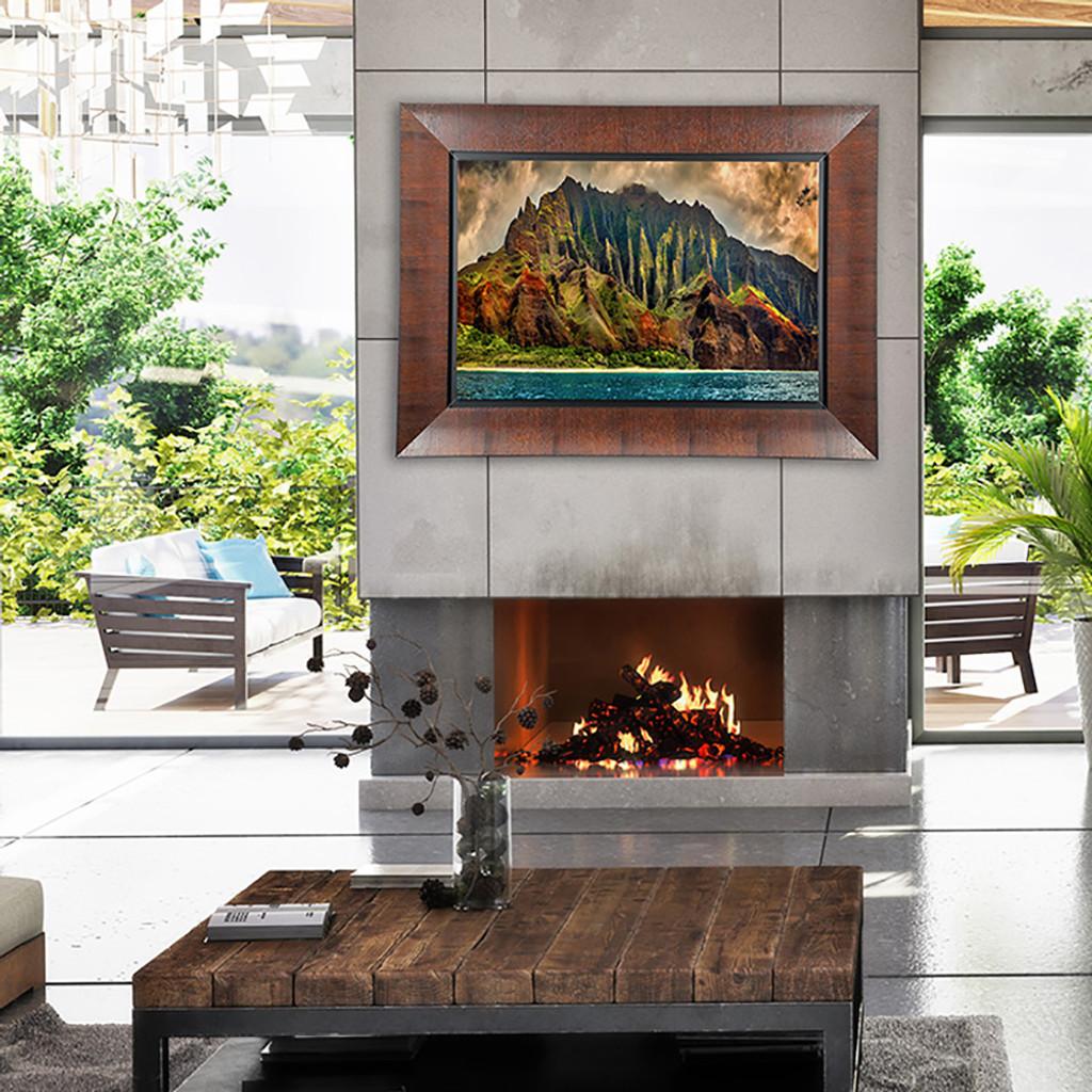 Metal Print w/ Sequoia Wood Frame