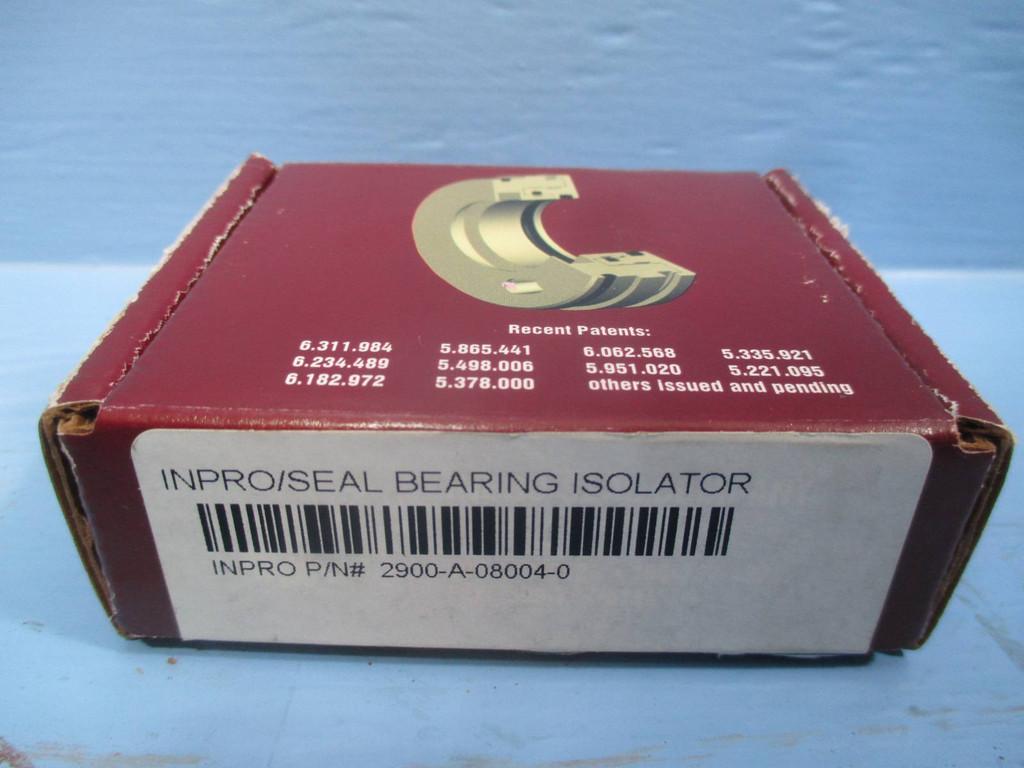 New Inpro Seal 2900-A-08004-0 Bearing Isolator Inpro/Seal 1.573 - 2.492 NIB (DW0160-7)