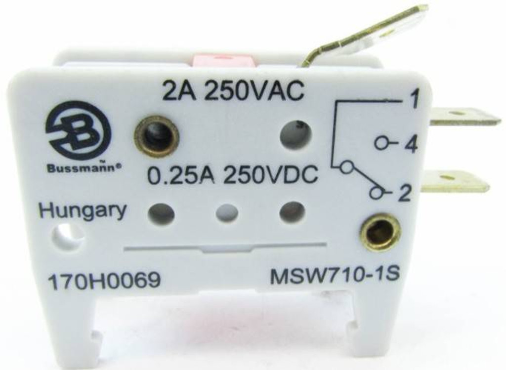 cooper bussmann 170h0069 2a 250v microswitch micro switch fuse (lot of 4) (yy0090 8) Cooper Bussmann Line Diagram
