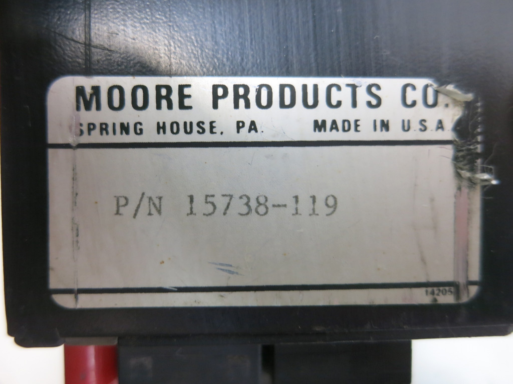 Moore 383TA21N1F 383 Multi-Point Display Control Station Controller 15738-119 (TK4785-1)