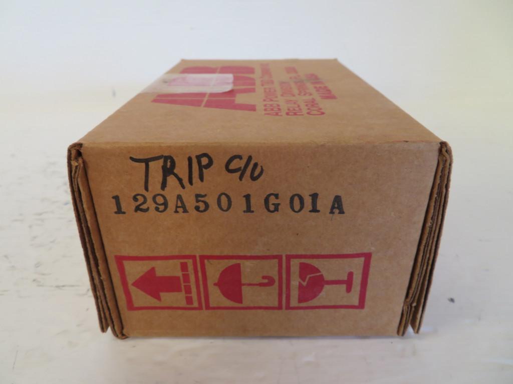 New ABB 129A501G01A Auxiliary Switch Trip C/O 1610C21H15  FLEXITEST NIB (NP2376-1)