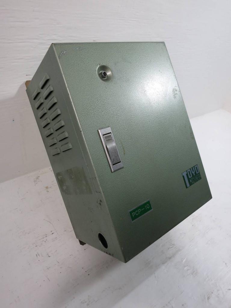 Toyo Machinery Model PCP-10 TK Control Panel PCP-10E (TK5268-1)