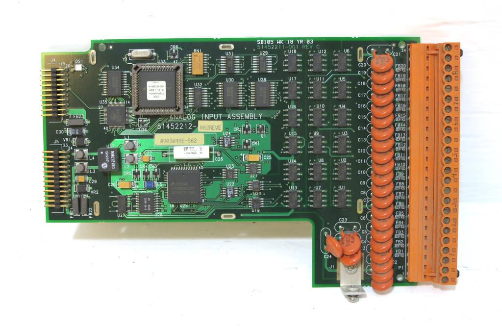 Honeywell 51452212-002 Rev E Multitrend Plus V5 Analog Input Module PCB Board (DW2619-2)