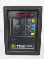 Square D PowerLogic 3020-CM-2350 Circuit Monitor w/ IOM-4411-20 I/O Module (DW1536-2)