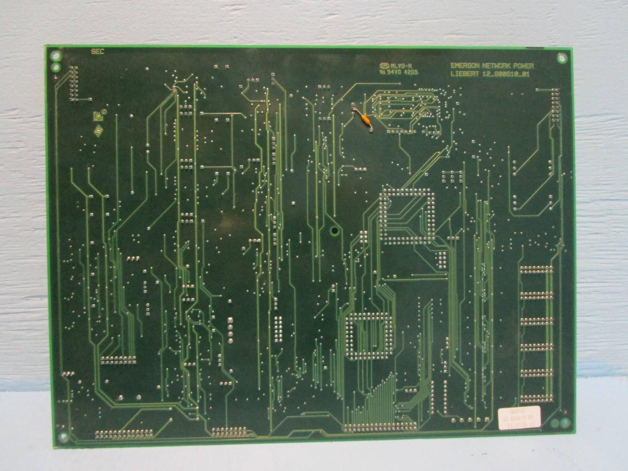Liebert UPS 02-800610-00 PCB Emerson Network Power Board OSC/_FREQ ActivePower