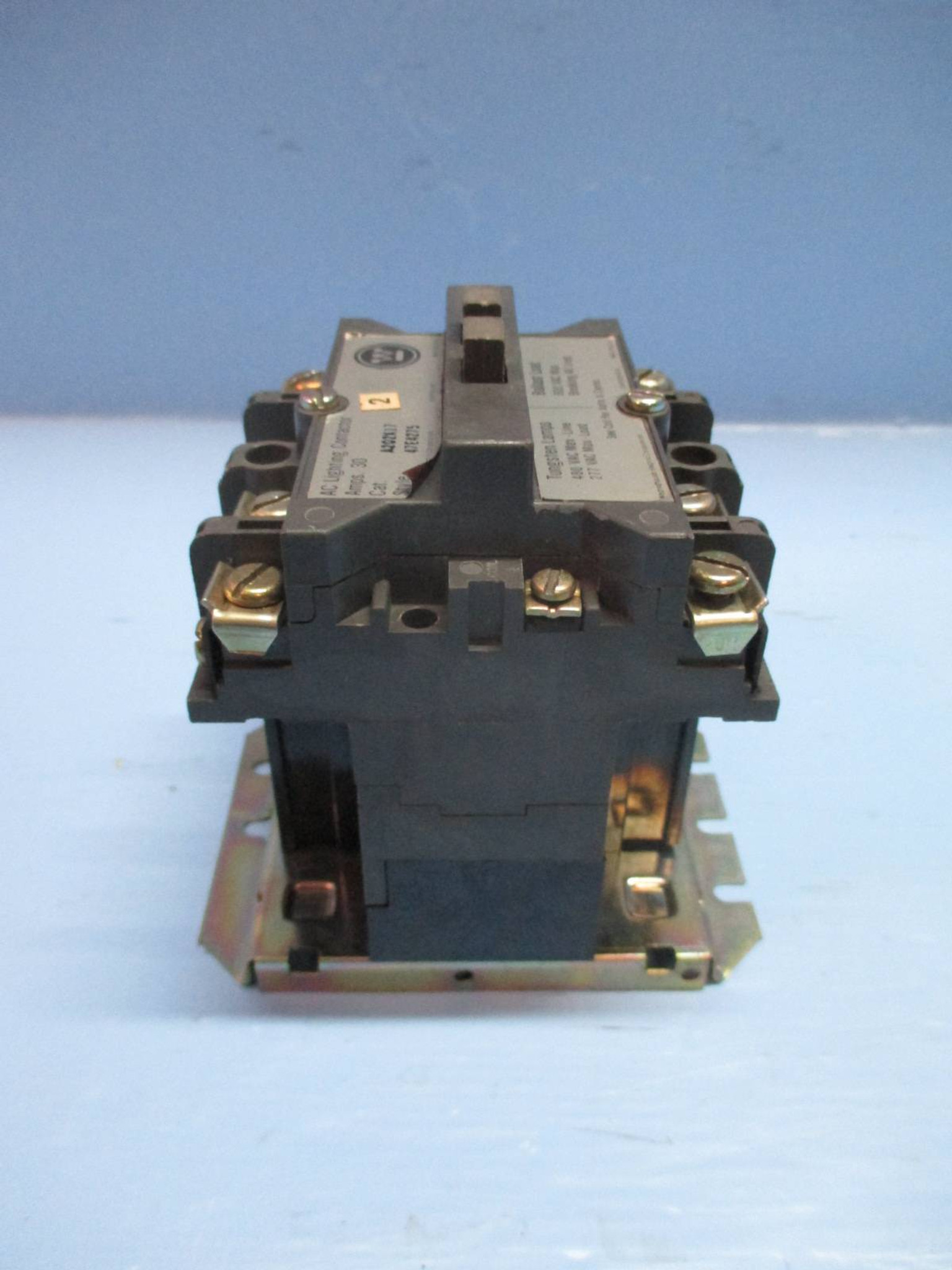 Westinghouse A202K17 30 Amp AC Lighting Contactor 277V Coil 600 Vac on