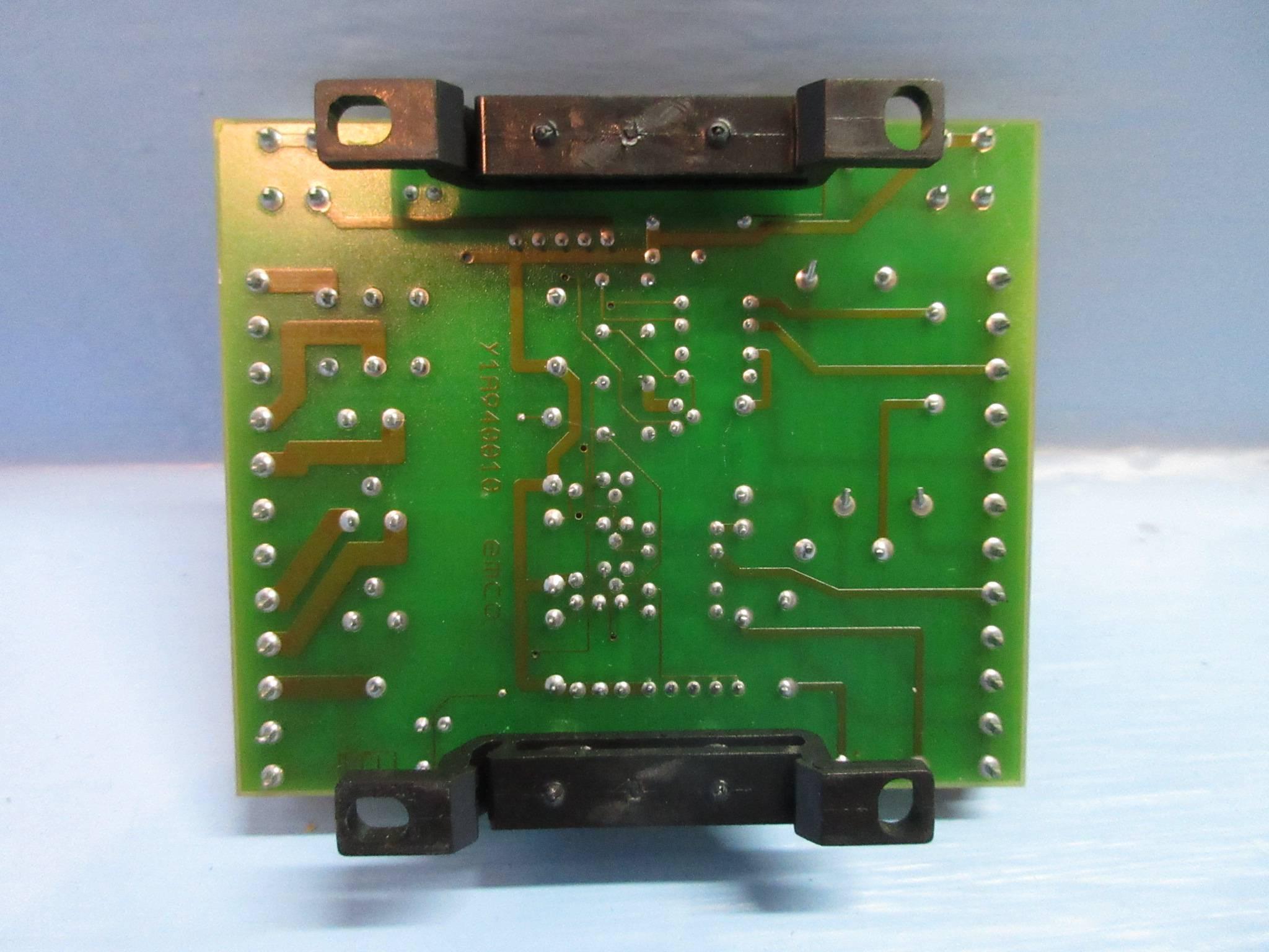 Emco Y1A940000 CNC Lathe PC Relay Board PLC (TK3486-1)