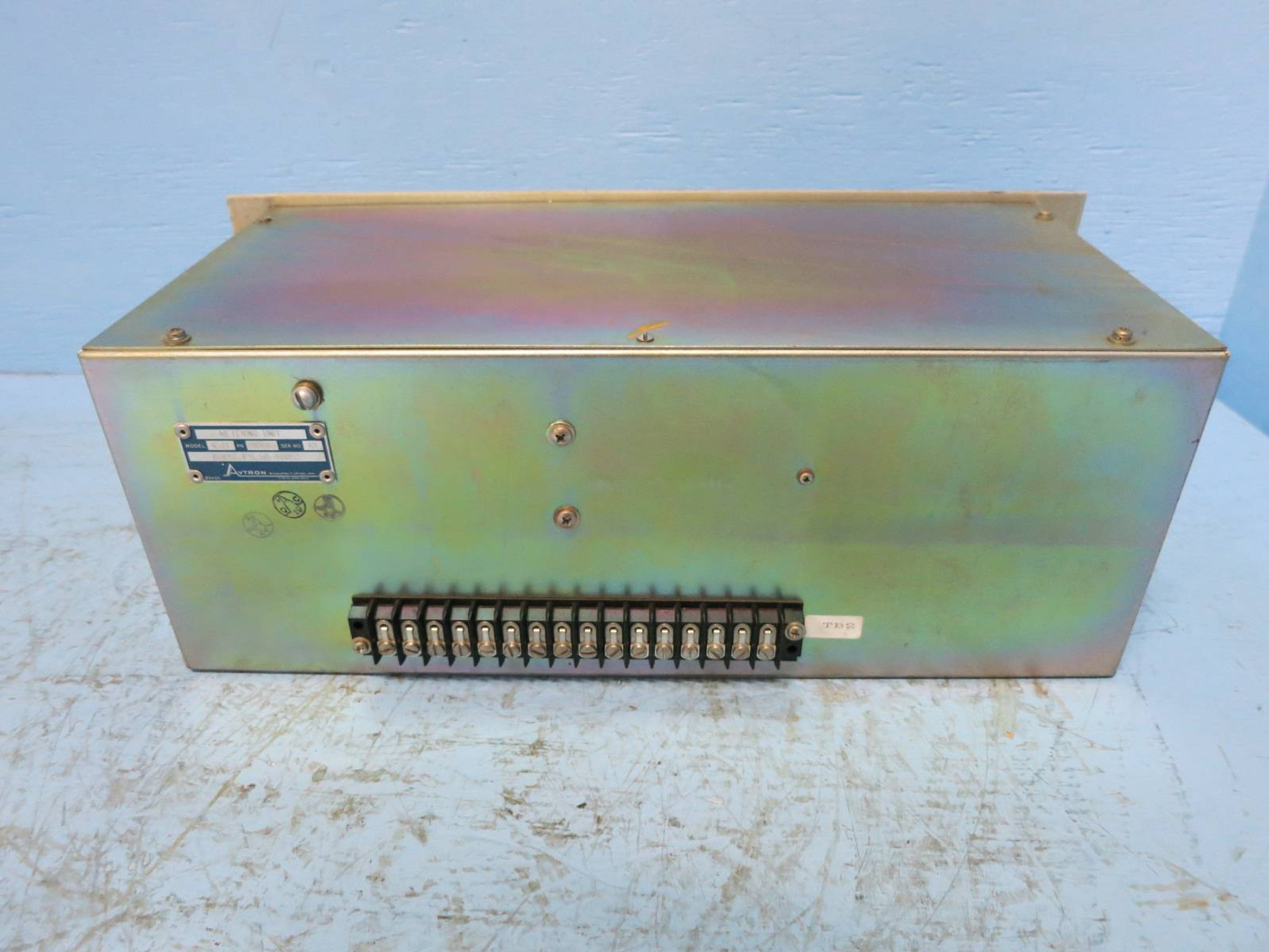 Avtron Model K514-D16865 Metering Unit Digital Readout Display 115V Power  Supply (DW0760-1)