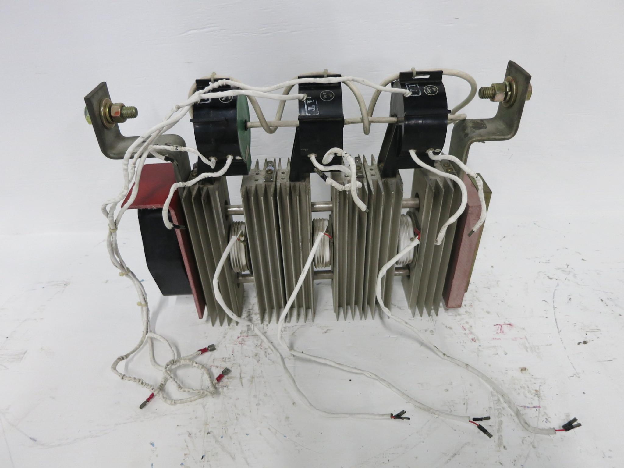 GE DS5201 A2S11 Thyristor Converter Rectifier Stack Heatsink SCR Bridge  Module (DW0971-25)