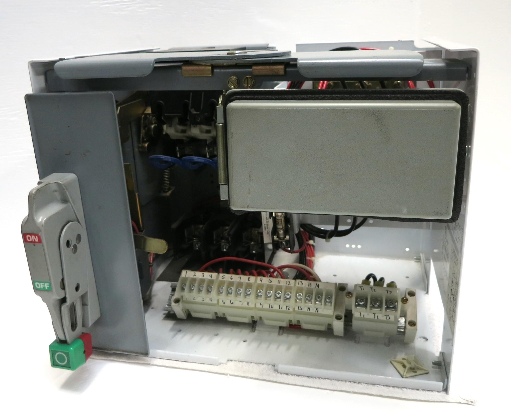 Square D Model 6  Size 1 MCC Bucket w//door  MOD 6
