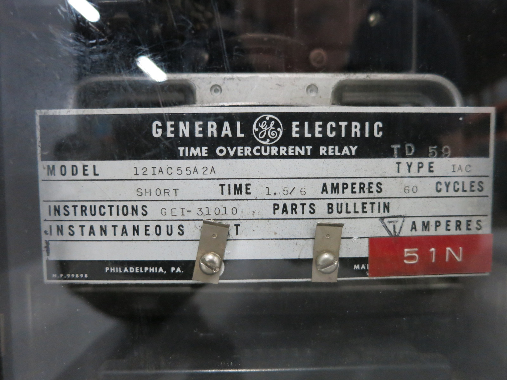 Ge 12iac55a2a Time Overcurrent Relay Type Iac 15 6 Amp General Electrical Https D3d71ba2asa5ozcloudfrontnet 12014161 Images Dw1100
