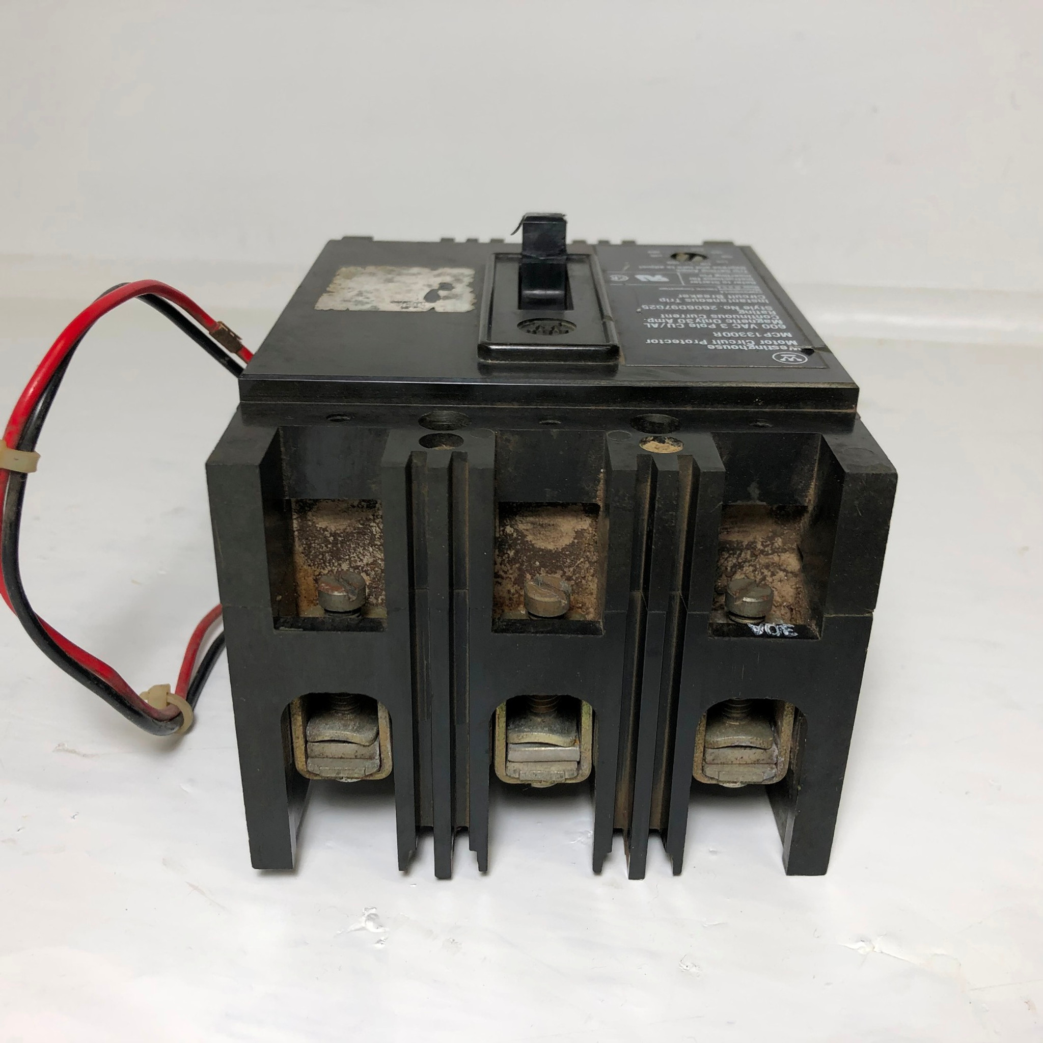 Westinghouse MCP13300R 30A Circuit Breaker w/ Auxiliary 480/600V 3 on