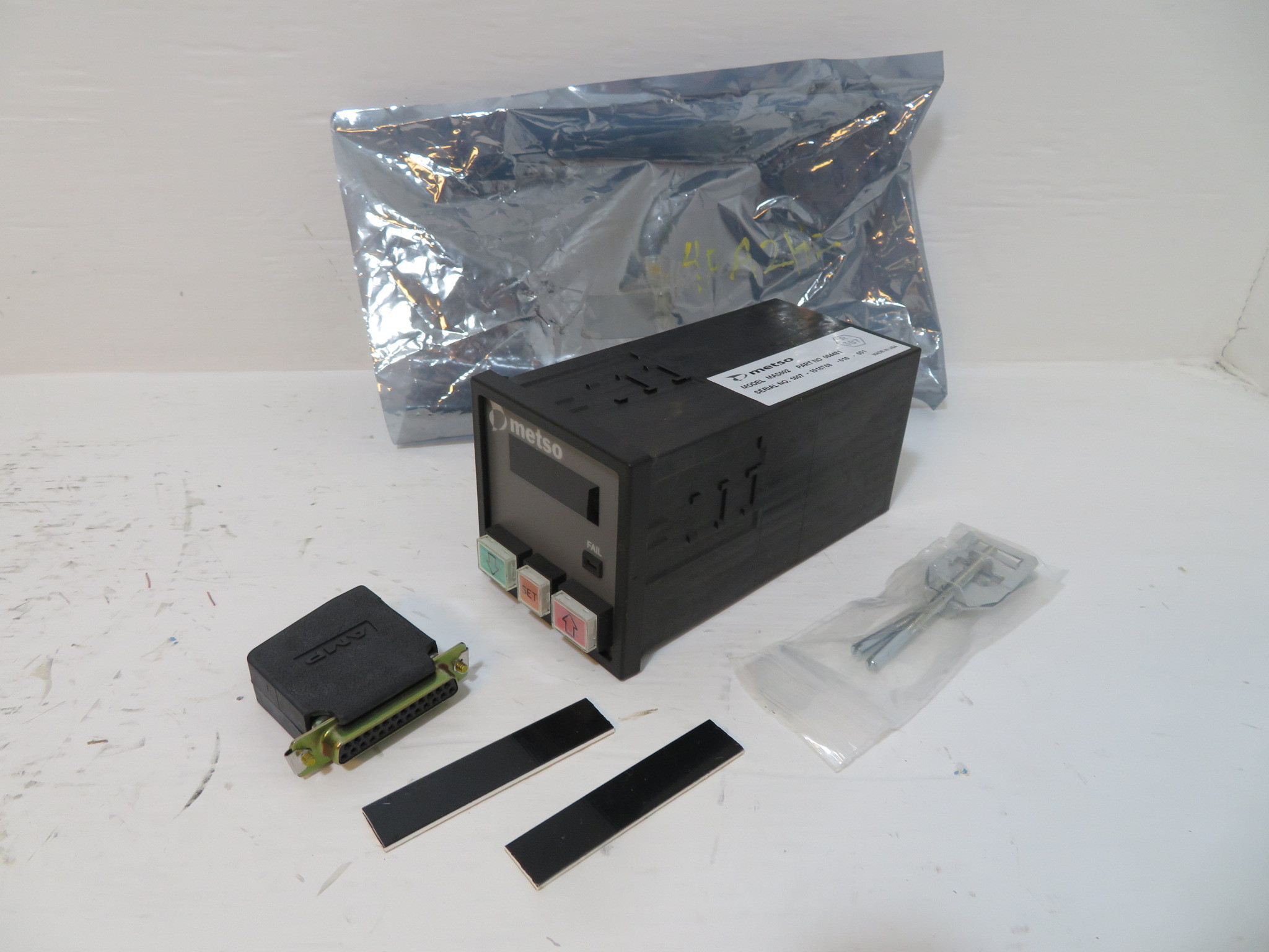 NEW Valmet Metso Automation MAS002 PLC Interface 064481 Manual Auto Station  MAS (NP2420-1)