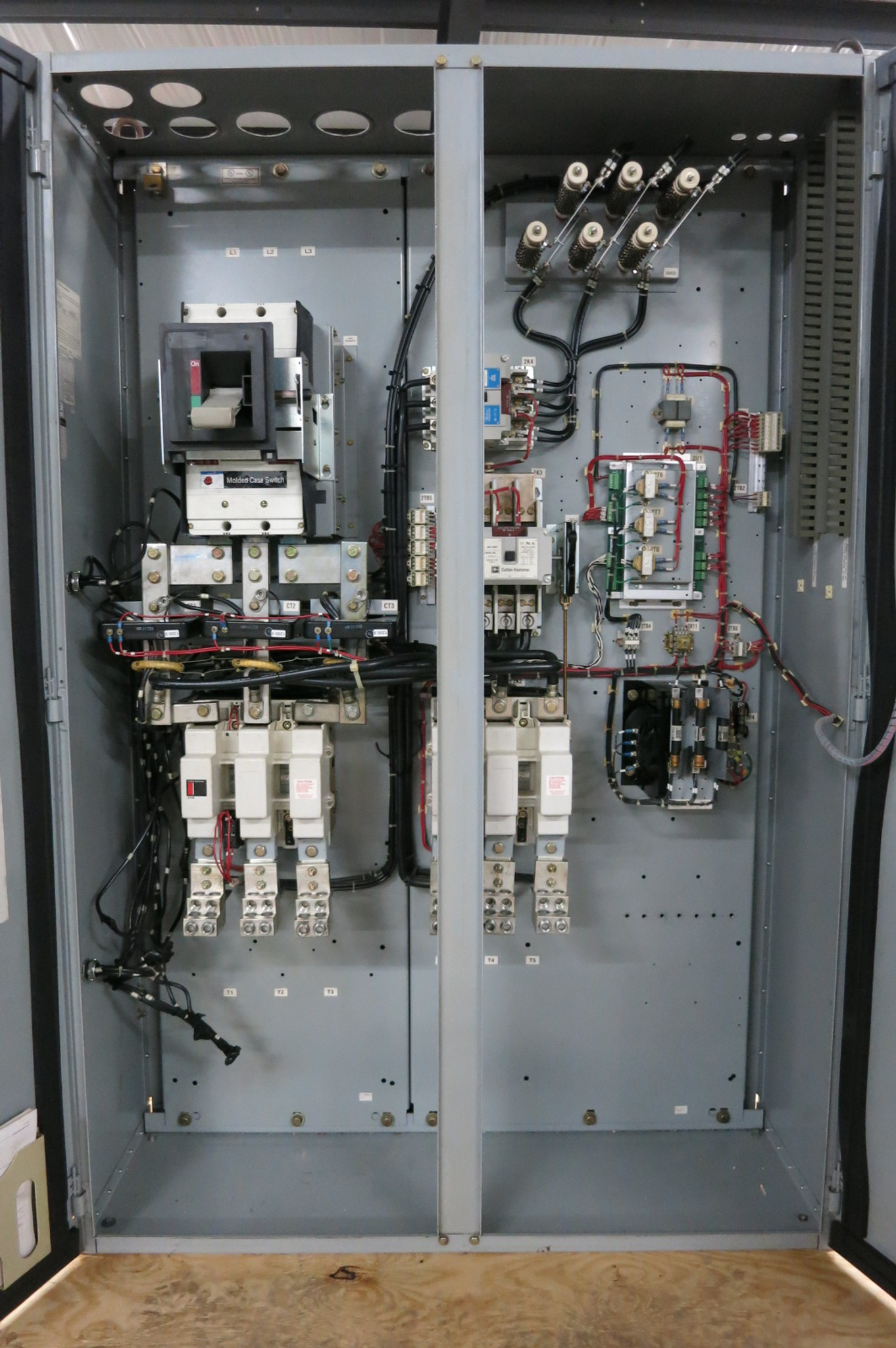 Trane Centravac 460V 668-935RLA Motor Controller WYE-DELTA Chiller Starter  CVSF (PM2958-1)