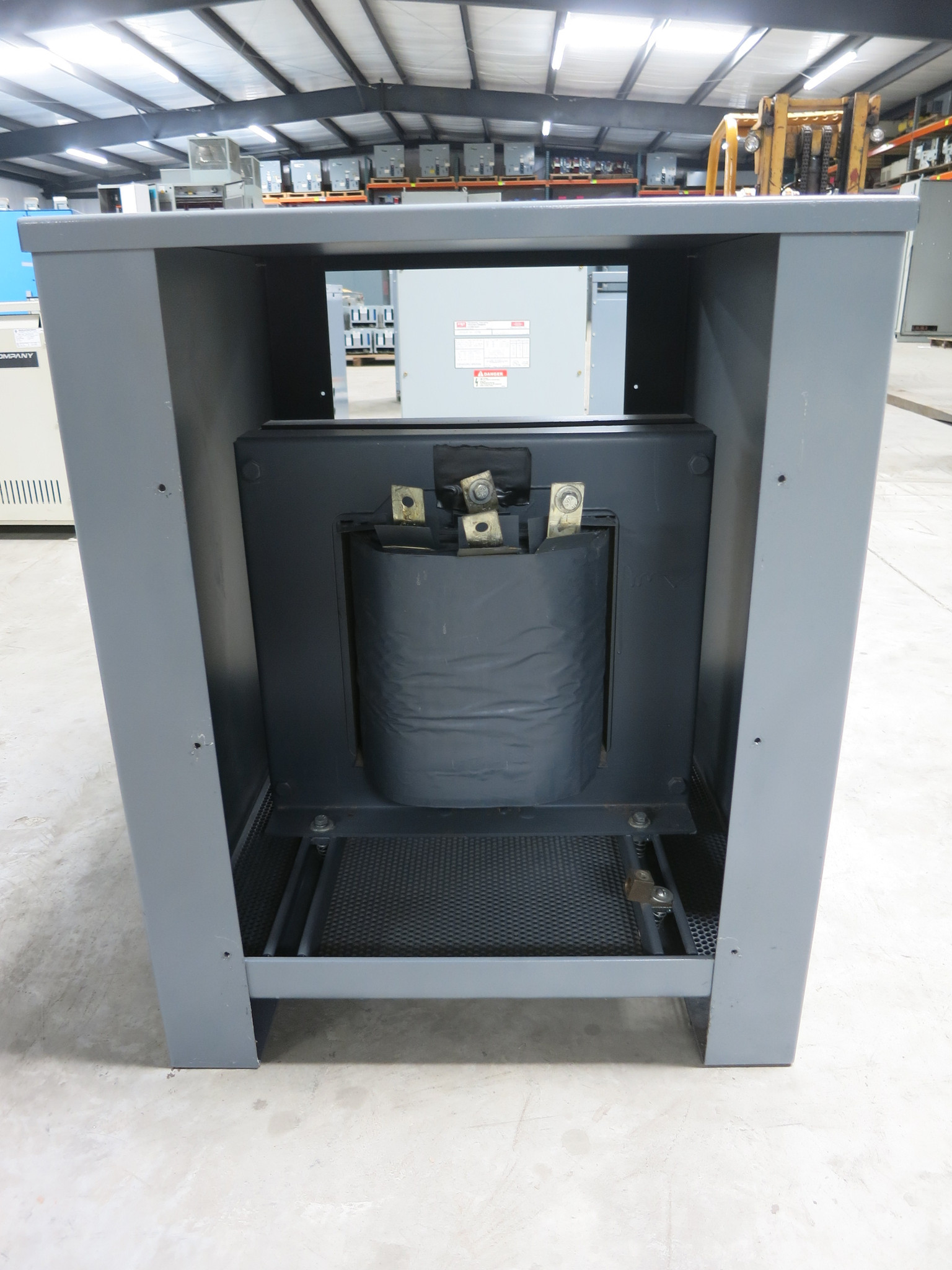 NWL 100007A Current Limiting Reactor 160/171 Amp 4/6/8 mH 480V 1PH  Transformer (DW1544-1)