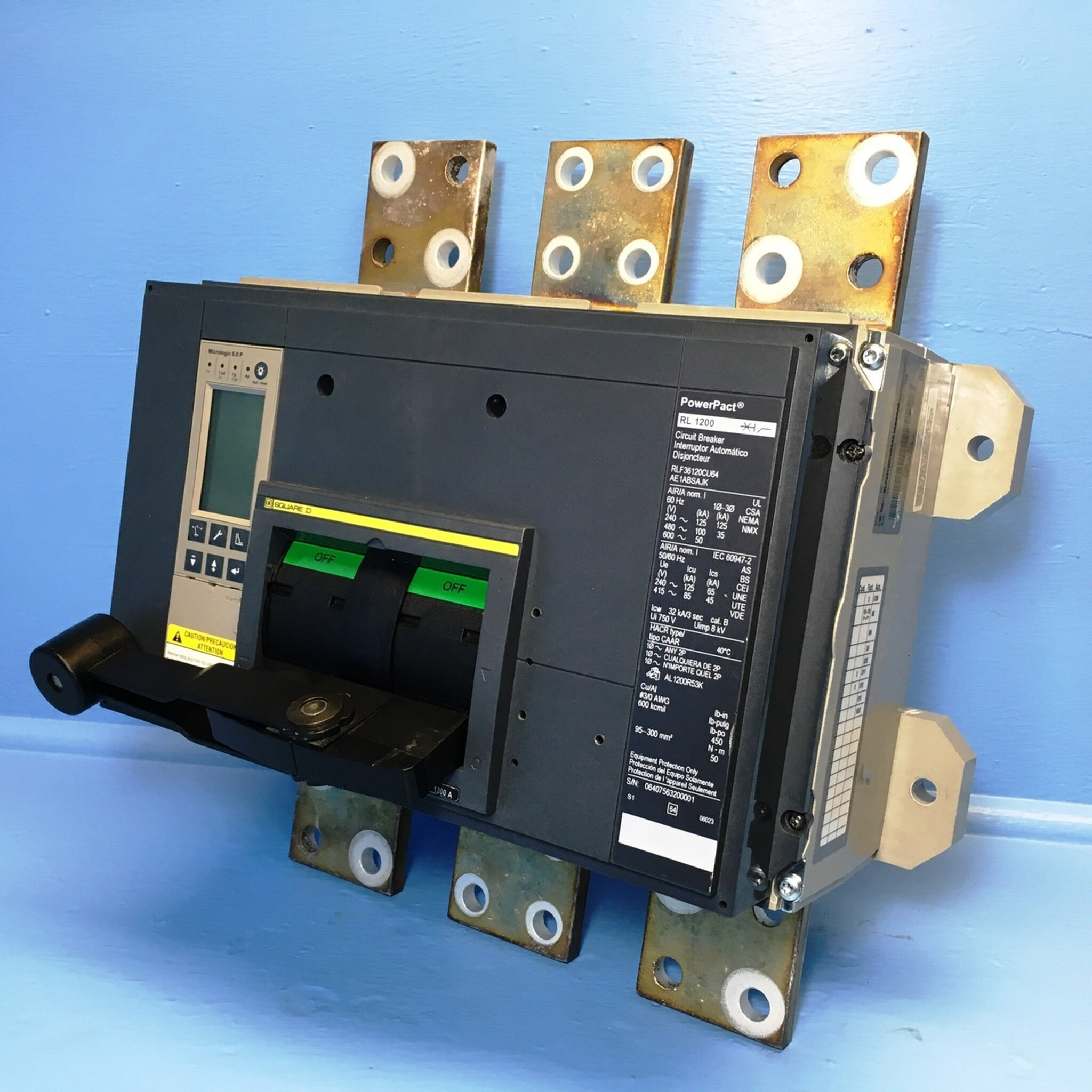 Square D PowerPact Breakers