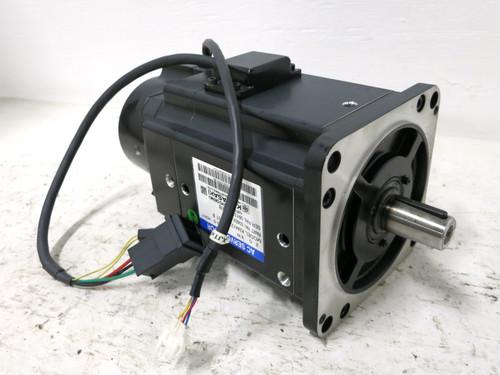 Sanyo Denki R2AA13200LCP2T-B AC Servo Motor 2.0 kW 50601-0096 Kawasaki 2kW 2000 (DW3636-1)