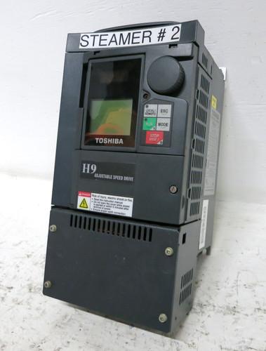 Toshiba VT130H9U4080 7.5 HP VT 130 H9 Transistor Inverter AC VS Drive 7.5HP 480 (DW3824-3)