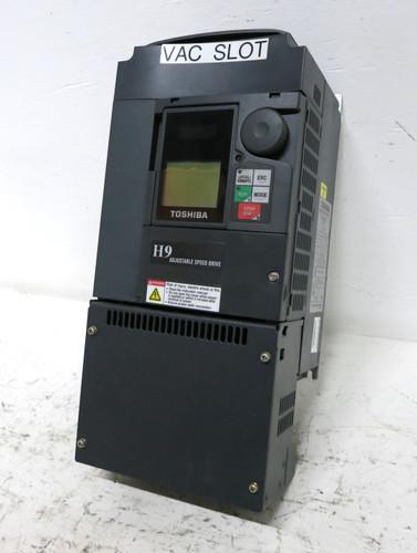 Toshiba VT130H9U4110 10 HP VT 130 H9 Transistor Inverter AC VS Drive 10HP 480 (DW3825-3)