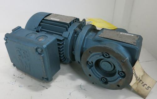 Sew Eurodrive DFT71C4 0.33HP 460V DT79 Gear Reducer Motor 1720RPM SAF37DT71C4 (GA0944-2)