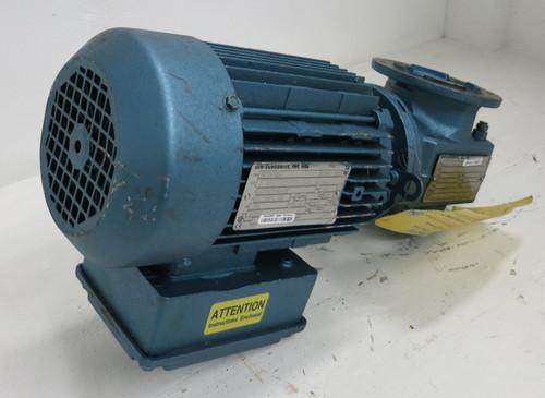 Sew Eurodrive DFT80K4 0.75HP 460V DT79 Gear Reducer Motor 1700RPM SAF37DT80K4 (GA0945-2)