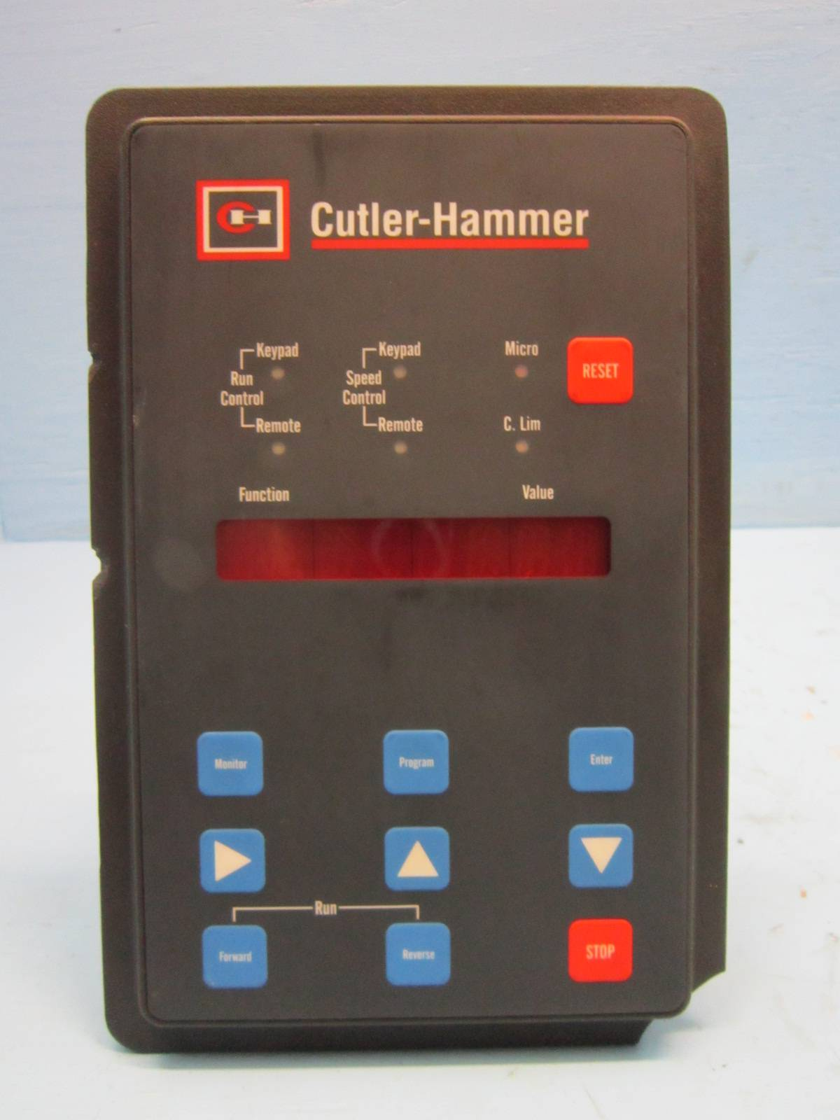Cutler-Hammer 3D17415G01 Adjustable Frequency Control Westinghouse CH PLC  crack (NP0982-1)