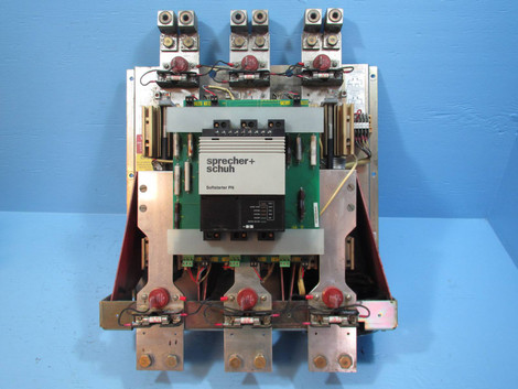 Sprecher Schuh PNS 0500 480V 400 HP 480V SMC Dialog Plus Soft Starter 300HP AB NP1704 1