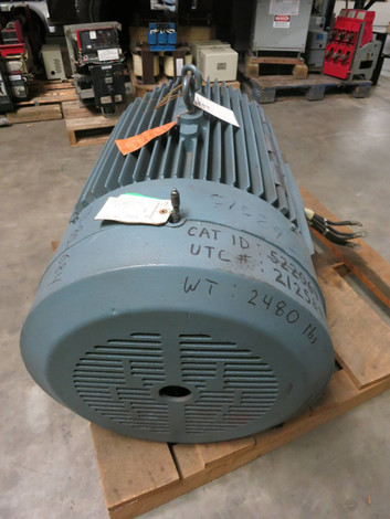 Rebuilt Reliance 200 HP 449TZ 1190 RPM 440V Duty Master A-C Motor 200HP AC  (PM2820-1)