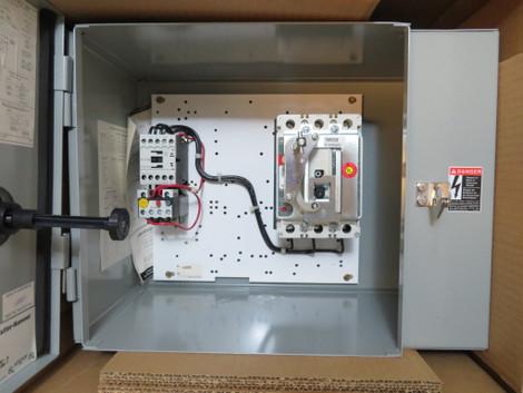 NEW Eaton ECX25B1AAC Combination Starter Breaker FVNR 7 Amp NIB Cutler Size  1 (NP2179-4) - River City IndustrialRiver City Industrial