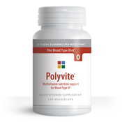 Blood Type Diet specific multivitamin for Type O - Polyvite O