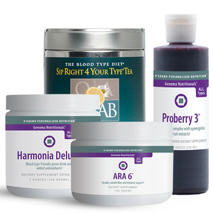 Healthy Blends Pack AB - A collection of healthy drink mix options to support overall health from many different angles