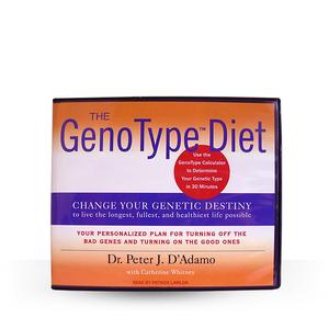 The Genotype Diet Audio Book CD