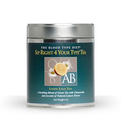 Sip Right 4 Your Type Tea (Blood Type AB)