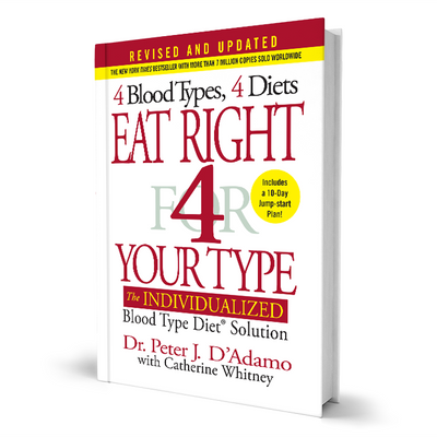 New Eat Right 4 Your Type book