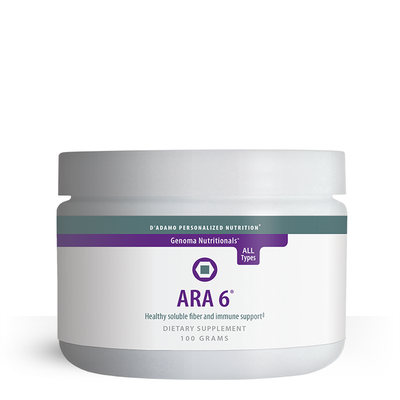 ARA 6 - Pure larch powder soluble fiber and immune support (100 grams)
