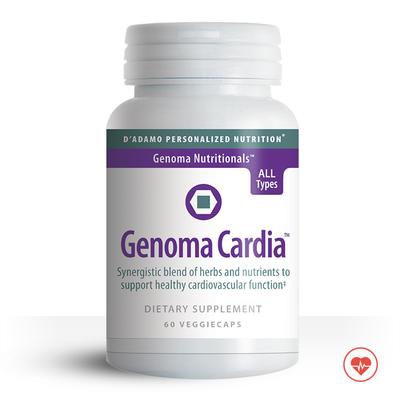 Genoma Cardia - Support healthy heart function